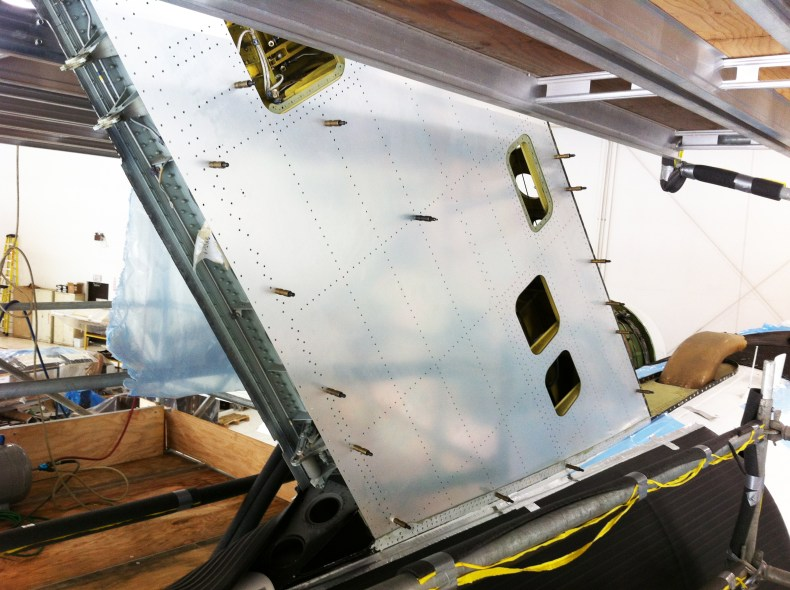 Structures Support - Sheet Metal Repairs