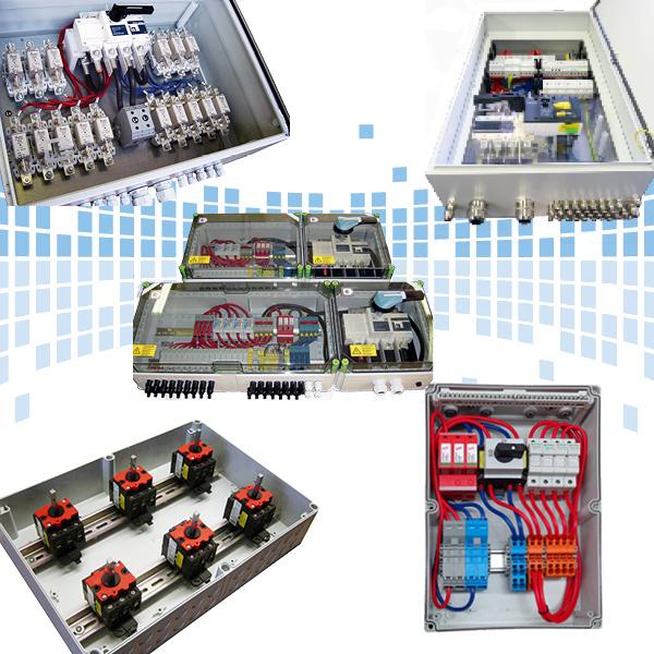 Anschlusstechnik PV Generatoranschlusskasten GAK Stringboxen kundenspezifisch individuell