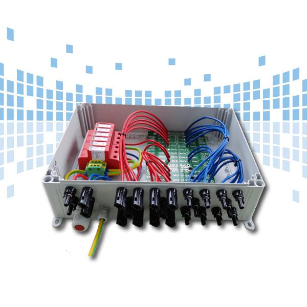 Anschusstechnik Stringbox Easy mit Überspannungsschutz