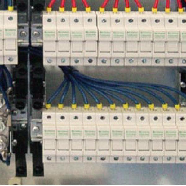 PV Anschlusstechnik Generatoranschlusskasten GAK Stringbox PV Strangsicherungen