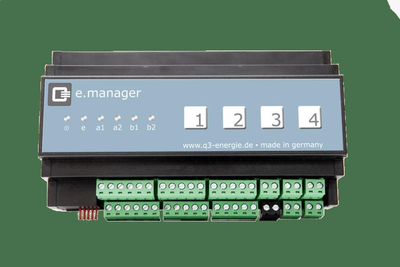 e-manager Energiemanagement Smart Home Photovoltaik Solar Speicher Heizung Warmwasser