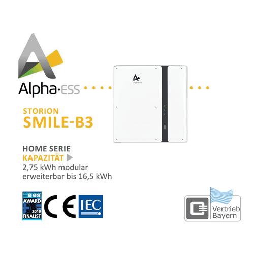 Magazynowanie energii Alpha EES SMILE B3