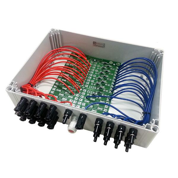 Anschlusstechnik PV Stringbox Easy mit Dioden