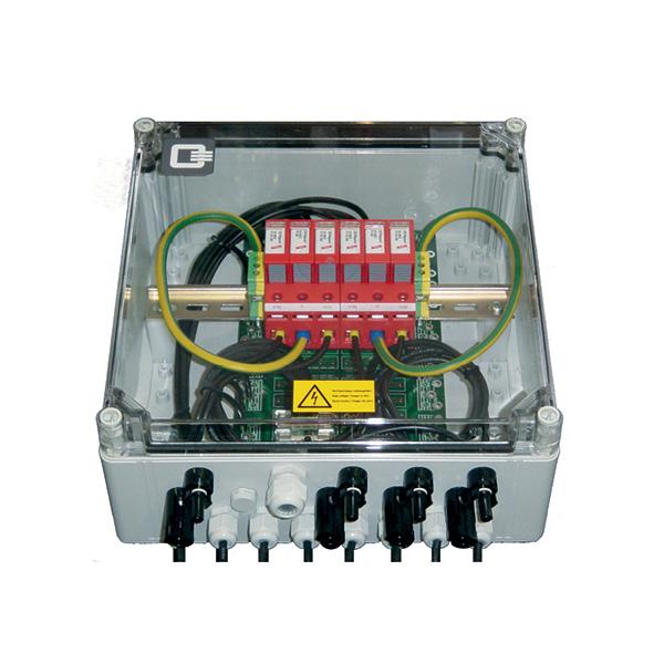 Anschlusstechnik PV Stringbox Easy mit Überspannungsschutz