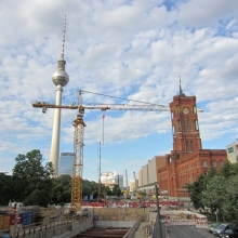 Alexanderplatz - A Construction Site