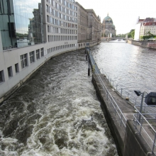 Berlin - Spree River Locks