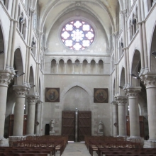 Interior of Notre Dame in Epernay