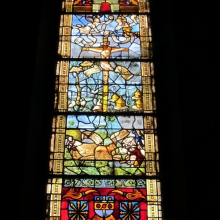 Stained Glass at Notre Dame Church in Epernay