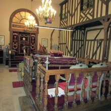 In the Synagogue - Troyes