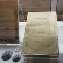 From Marx to Darwin, A signed copy of Das Kapital