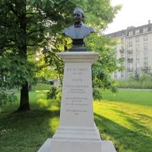 A Monument to a Pacifist - Elie Ducommun - Geneva