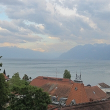 A Storm Blowing Into Lausanne