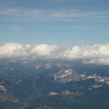 The Alps - Flying into Geneva