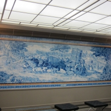 WTO: Tile Mosaic Honoring Agricultural Labor