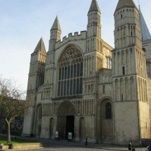 Rochester Cathedral Facade