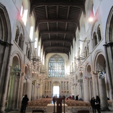 Rochester Cathedral Nave