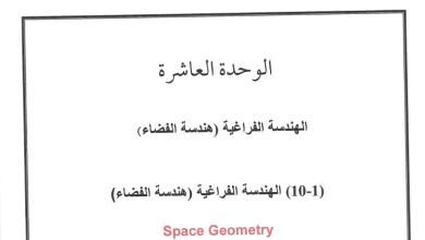 Photo of هندسة الفضاء منقطة