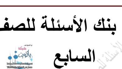 Photo of الصف السابع بنك أسئلة اسلامية محلول اعداد أنوار الزعبي