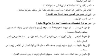 Photo of مذكرة لغة عربية الصف الثاني عشر الفصل الثاني
