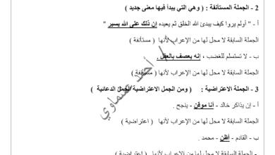 Photo of قواعد اللغة العربية الصف الثاني عشر الفصل الثاني اعداد أحمد عشماوي