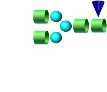 NGA2F 2-AB glycan
