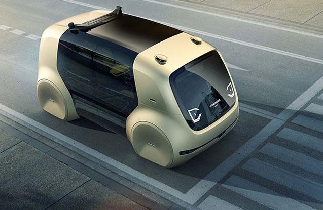 """""""Volkswagen""""dən pilotsuz avtomobil -  Fotolar"""