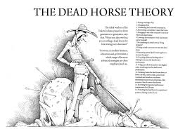 kiedy odkryjemy, iż padł koń
