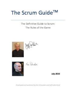 Scrum Guide 2016 EN