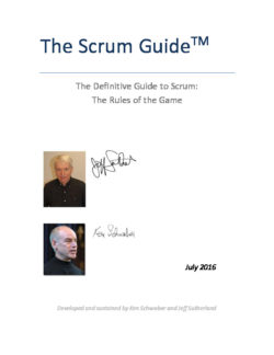Scrum Guide 2016 EN