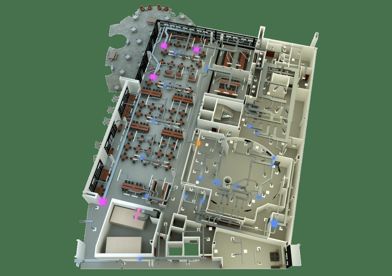 3D-Floor-Plan-with-HVAC-2