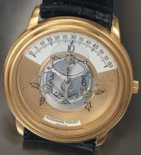 Audemars Piguet wandering-hour watch