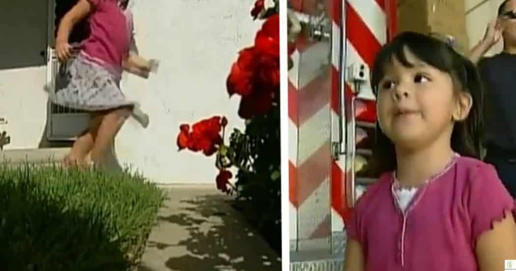أليساندرا.. ابنة الـ3 سنوات التي أنقذت والدها من موت محقق