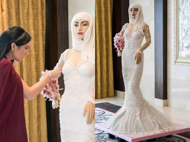 عروس دبي كعكة الزواج الأغلى في العالم!