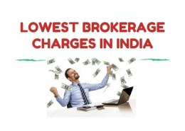 Which is the lowest brokerage in India?