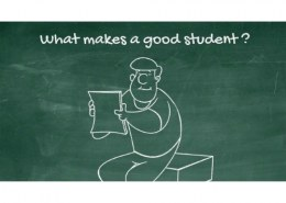What is a good student?