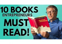 What are entrepreneur books that you must read?