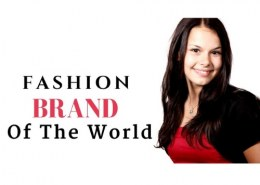 What are the top 10 fashion brands?