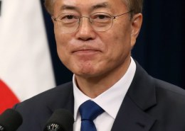 Who is the president of soth korea