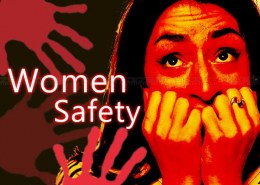 What is Helpline number for Women safety