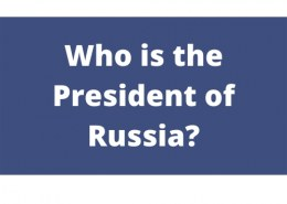 Who is the President of Russia?