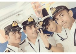Do I join as Officer after college in merchant navy?