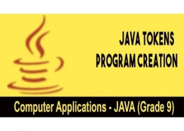 What are tokens in Java?