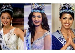 Who is the first lady to become miss India?