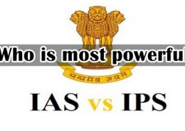 Who is higher than IAS?