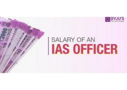 How much an ias officer earns per annum ?
