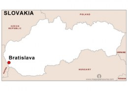 What is the capital of Slovakia?