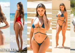 Who is Demi rose, and what are some of her bold and stunning photos?