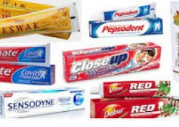 Which is the top 5 toothpaste brands in india?