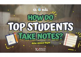 What do top students do?