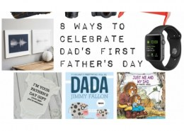 How can I make my first Father's Day special?